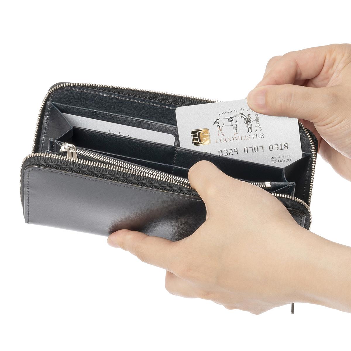 カヴァレオ シンバのカードポケット