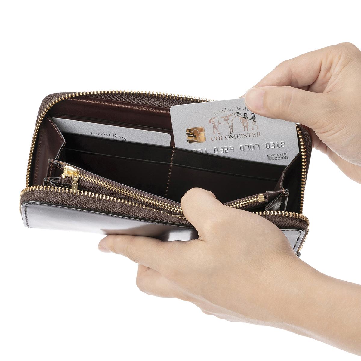 シェルコードバン アーチデュークのカードポケット