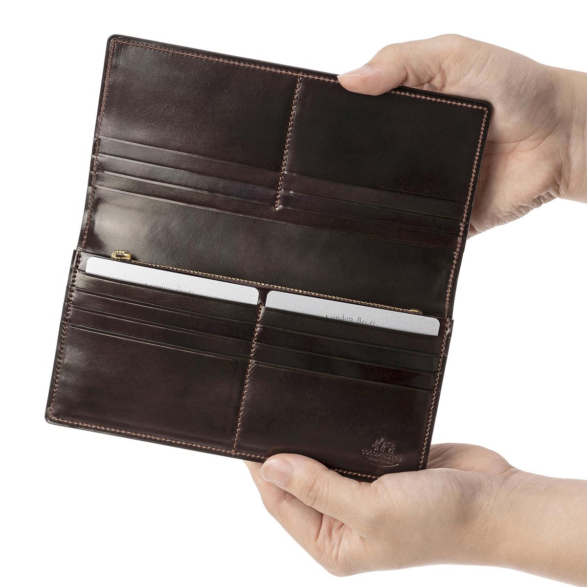 シェルコードバン スタンフォードのカードポケット