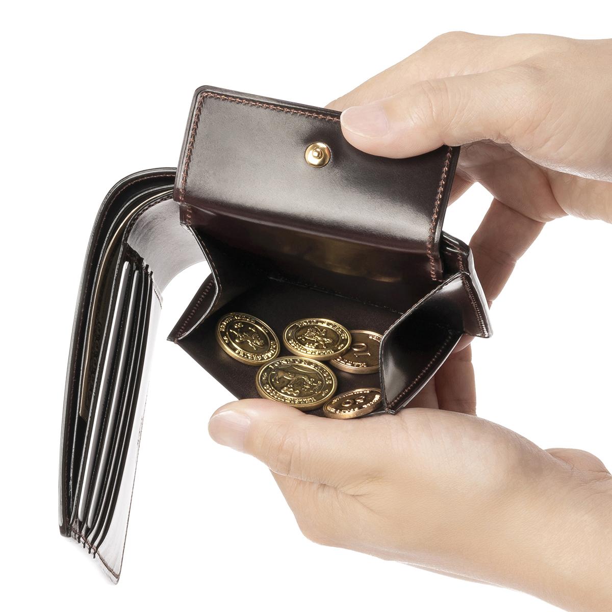 シェルコードバン ジョンブルの小銭入れ
