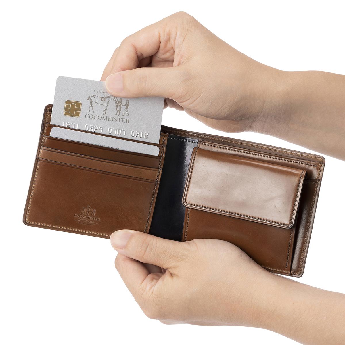 シェルコードバン ジョンブルのカードポケット
