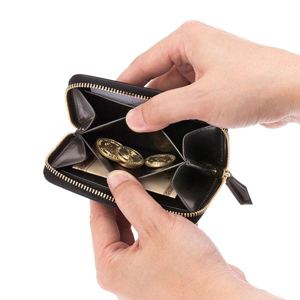 シェルコードバン・サルトラムの小銭入れ
