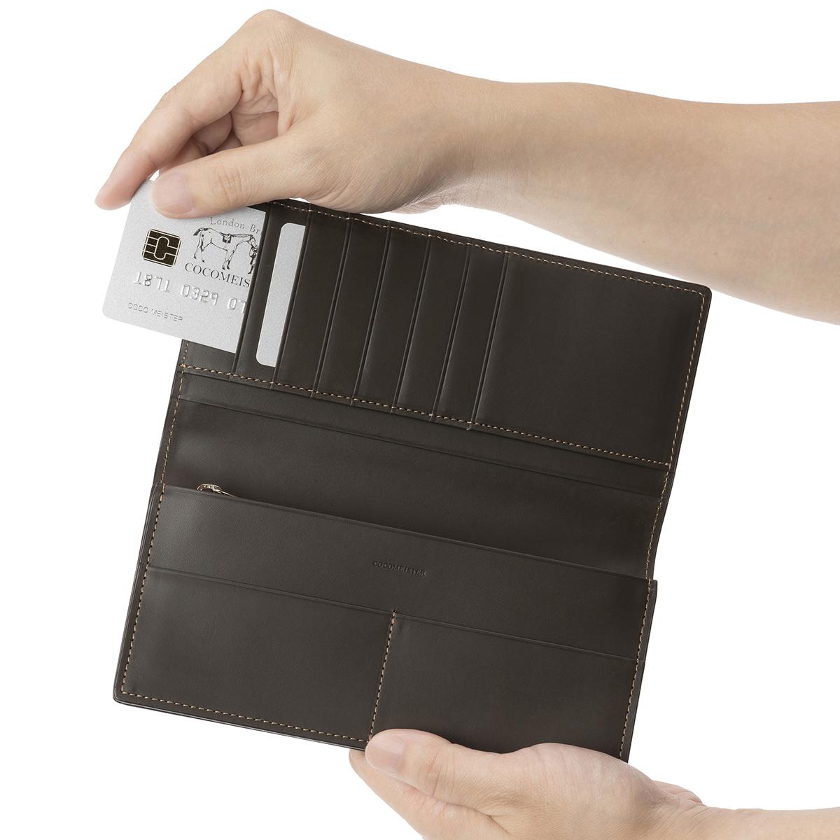 コードバンクラシック・シャーラックのカードポケット